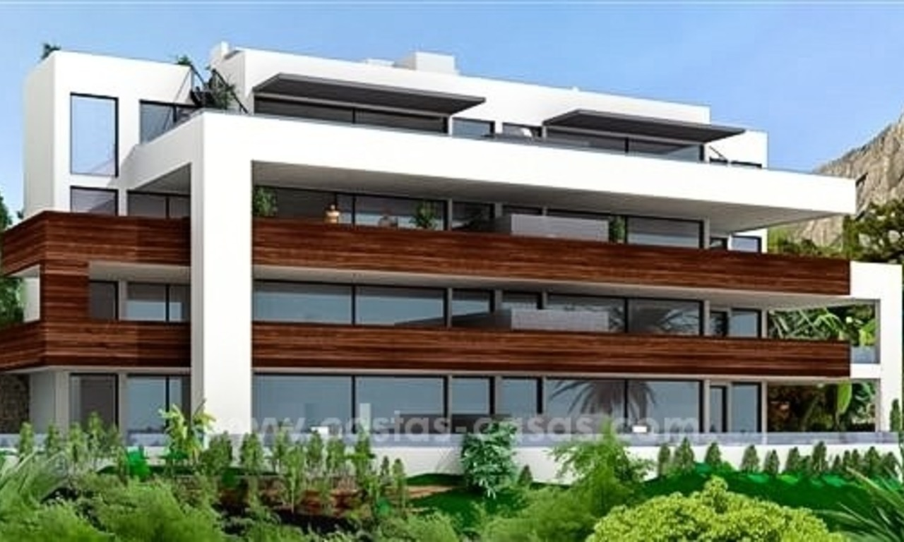 Luxury New Modern Apartments for Sale, Golden Mile, Marbella 0