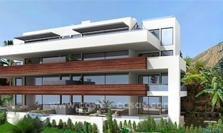 Luxury New Modern Apartments for Sale, Golden Mile, Marbella 1