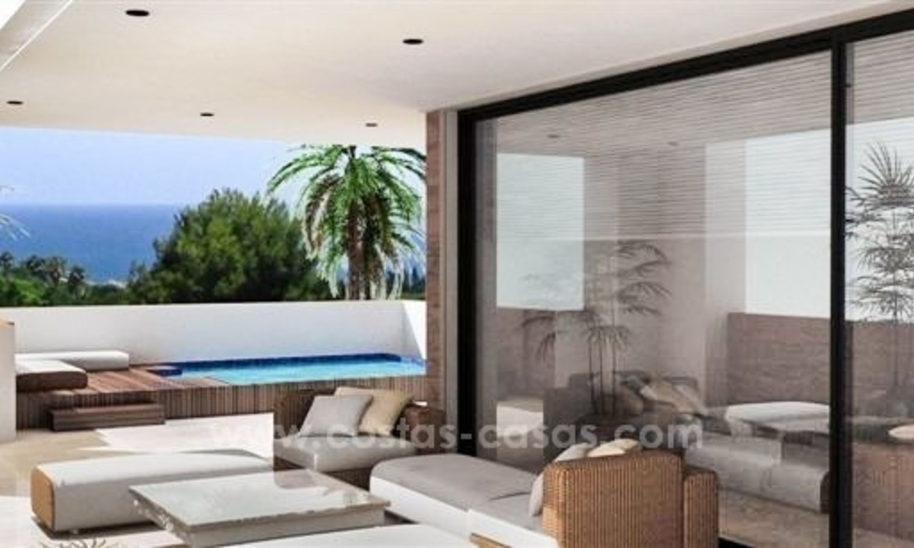 Luxury New Modern Apartments for Sale, Golden Mile, Marbella 4