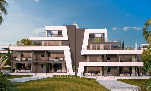 New modern luxury apartments for sale in the East of Marbella