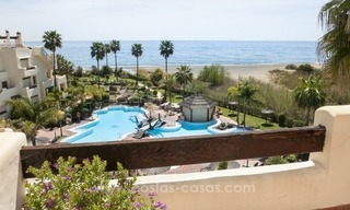 Luxury penthouse apartment for sale, first line beach complex, New Golden Mile, Marbella – Estepona 2