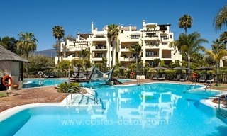 Luxury penthouse apartment for sale, first line beach complex, New Golden Mile, Marbella – Estepona 20