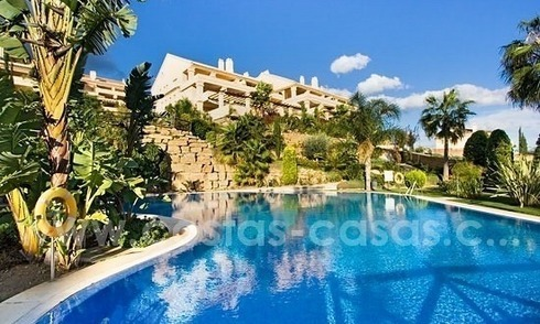 Luxury penthouse apartment for sale in Nueva Andalucia – Marbella