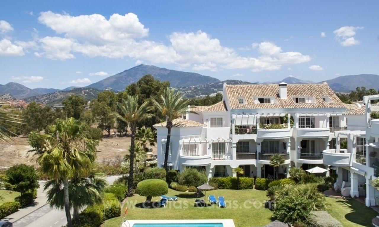 4 bedroom penthouse for sale in gated community in Marbella 2