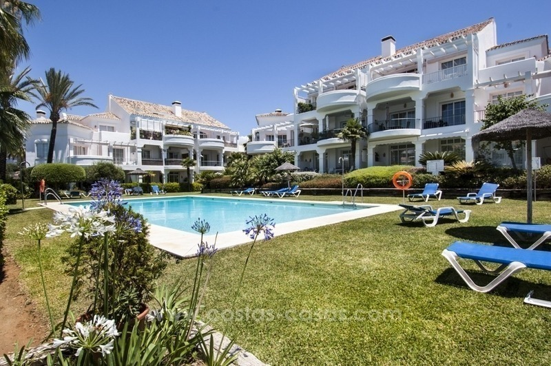 4 bedroom penthouse for sale in gated community in Marbella