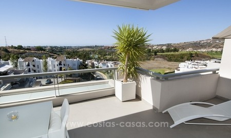 Contemporary, Luxury Golf Penthouse Apartment For Sale, Marbella – Benahavís 2