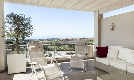 Contemporary, Luxury Golf Penthouse Apartment For Sale, Marbella – Benahavís 1