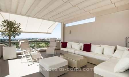 Contemporary, Luxury Golf Penthouse Apartment For Sale, Marbella – Benahavís 0