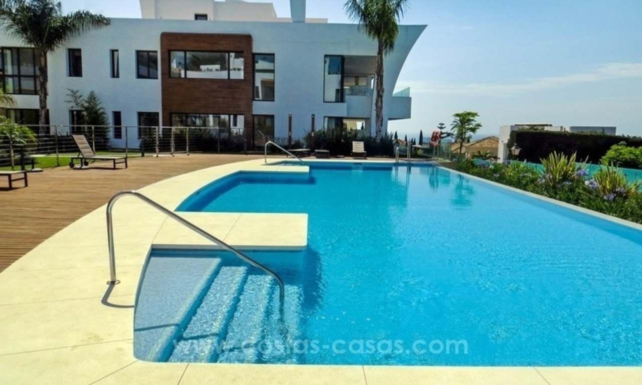 Exclusive modern penthouse apartment for sale in Sierra Blanca, Golden Mile, Marbella 1