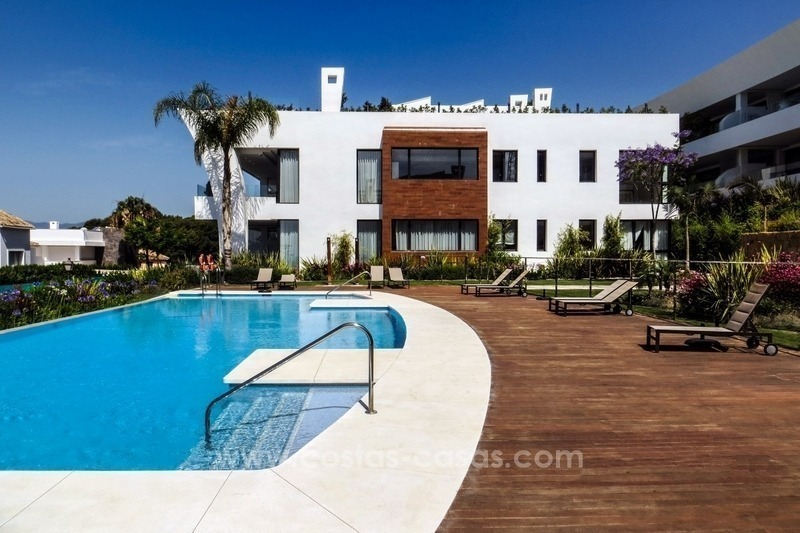 Exclusive modern penthouse apartment for sale in Sierra Blanca, Golden Mile, Marbella