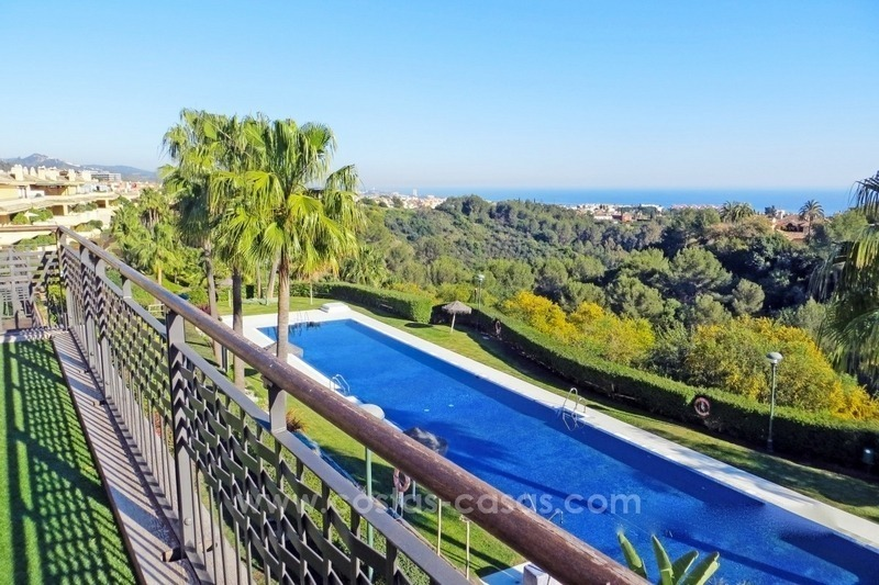 Luxury Apartment For Sale in Sierra Blanca, Golden Mile, Marbella