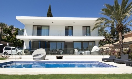 Brand new modern villa for sale in Nueva Andalucia, Marbella 1
