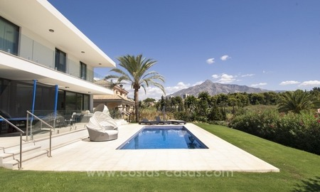 Brand new modern villa for sale in Nueva Andalucia, Marbella 2