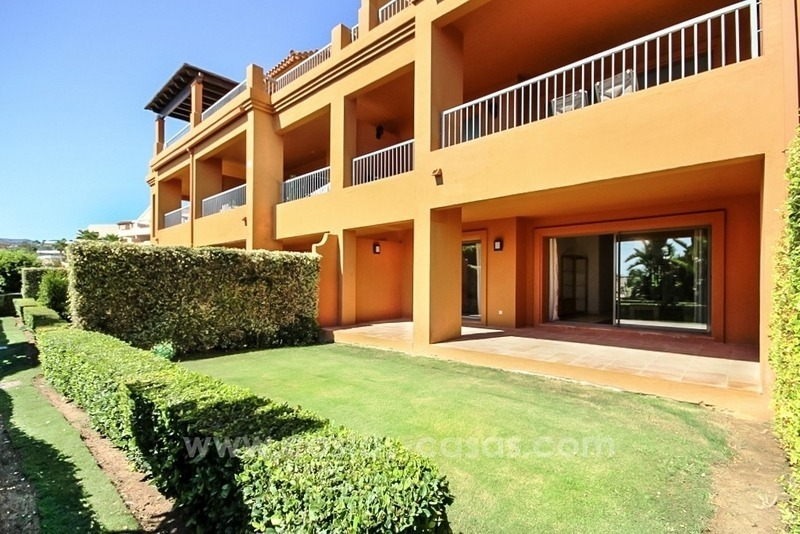 Beautiful groundfloor apartment for sale in Benahavis - Marbella 0