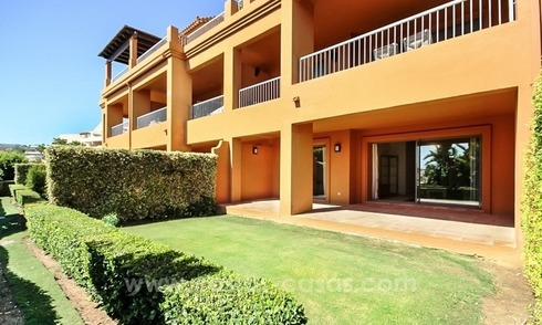 Beautiful groundfloor apartment for sale in Benahavis - Marbella