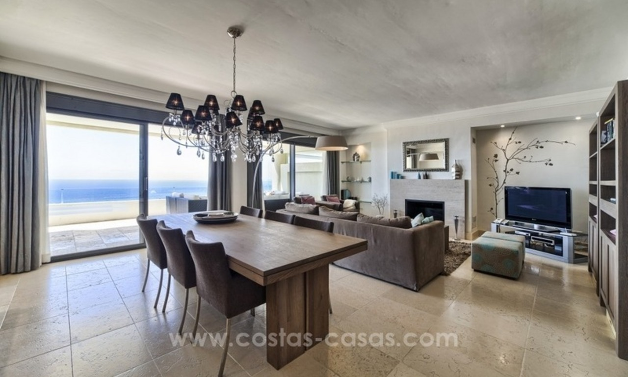 For Sale in Marbella: Modern spacious luxury penthouse apartment 4