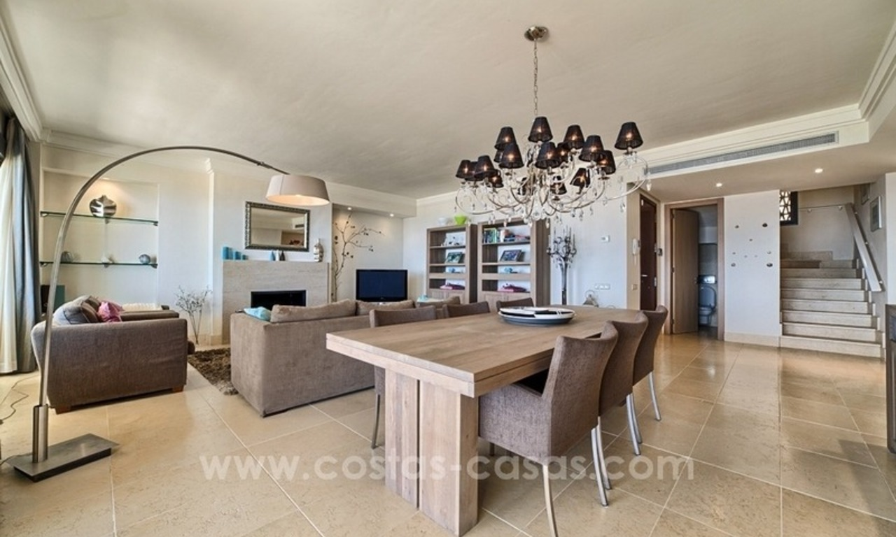 For Sale in Marbella: Modern spacious luxury penthouse apartment 6