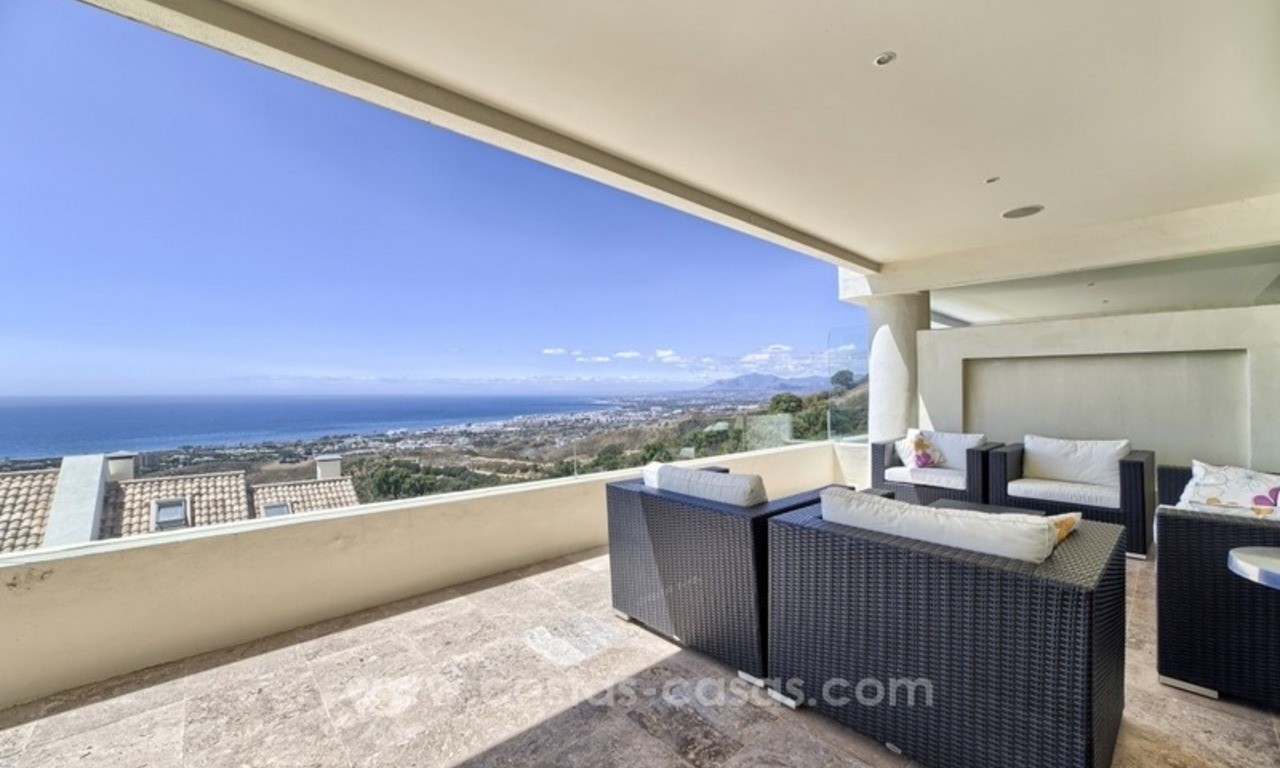 For Sale in Marbella: Modern spacious luxury penthouse apartment 1
