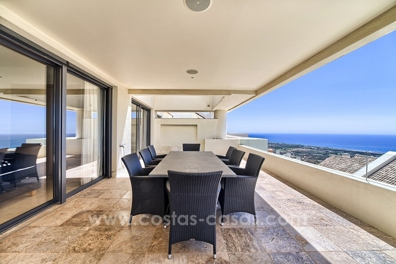 For Sale in Marbella: Modern spacious luxury penthouse apartment