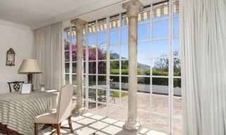 Superb and elegant Provence Charm villa for sale in exclusive El Madroñal, Benahavis - Marbella, with exceptional sea views 7
