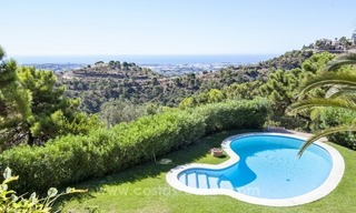 Superb and elegant Provence Charm villa for sale in exclusive El Madroñal, Benahavis - Marbella, with exceptional sea views 22