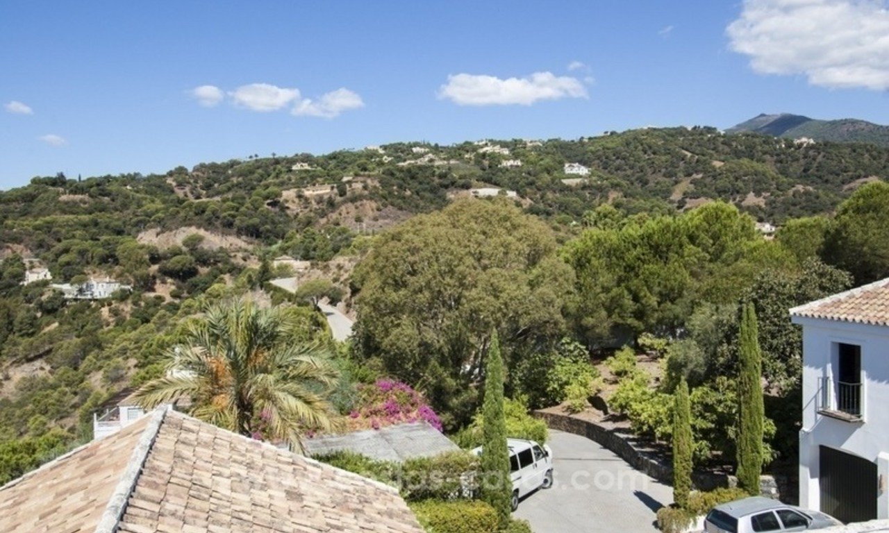 Superb and elegant Provence Charm villa for sale in exclusive El Madroñal, Benahavis - Marbella, with exceptional sea views 31