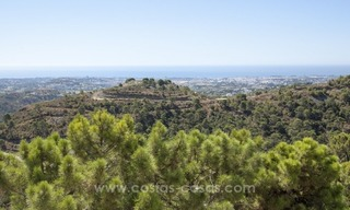 Superb and elegant Provence Charm villa for sale in exclusive El Madroñal, Benahavis - Marbella, with exceptional sea views 36
