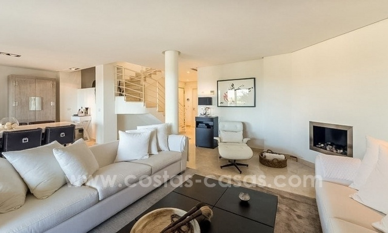 Stunning modern luxury penthouse apartment for sale in Marbella – Nueva Andalucía 4