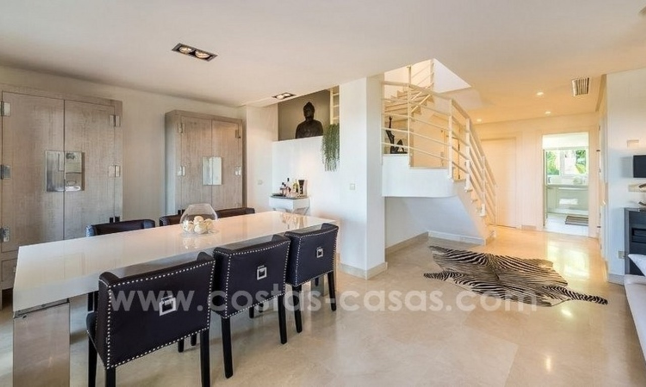 Stunning modern luxury penthouse apartment for sale in Marbella – Nueva Andalucía 8