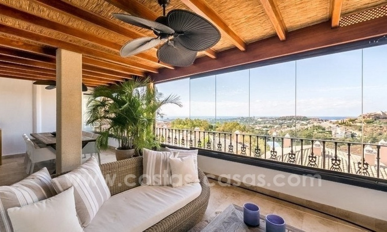 Stunning modern luxury penthouse apartment for sale in Marbella – Nueva Andalucía 0