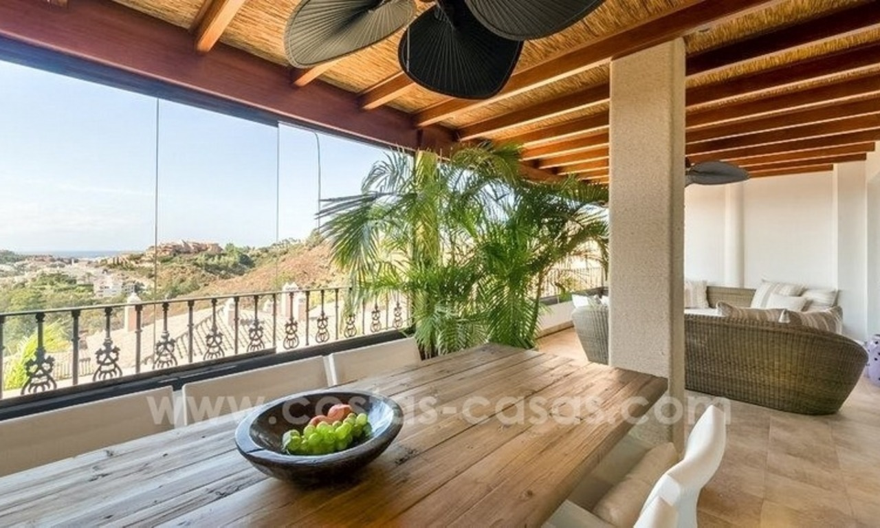 Stunning modern luxury penthouse apartment for sale in Marbella – Nueva Andalucía 1