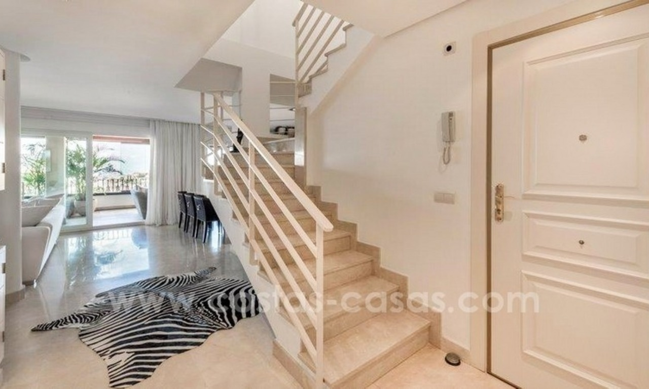 Stunning modern luxury penthouse apartment for sale in Marbella – Nueva Andalucía 9