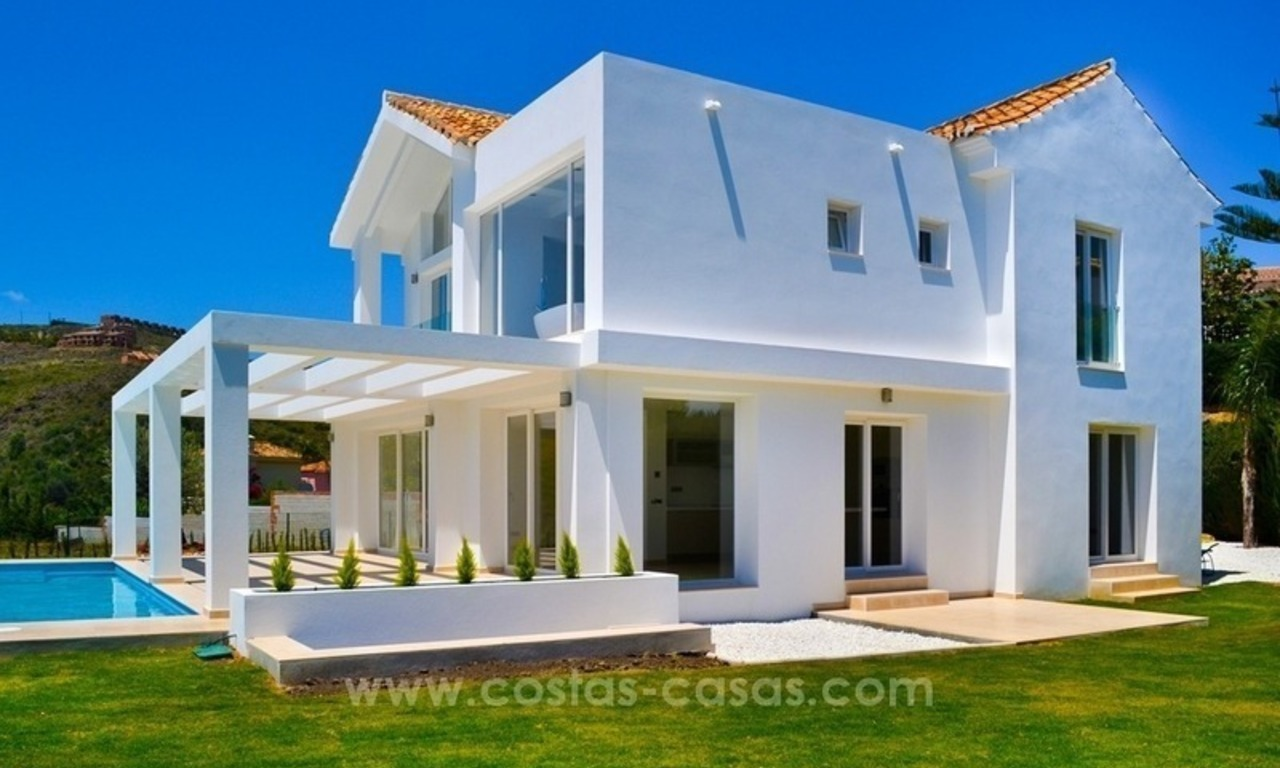 Newly built modern villa for sale in Marbella - Benahavis - Estepona 2