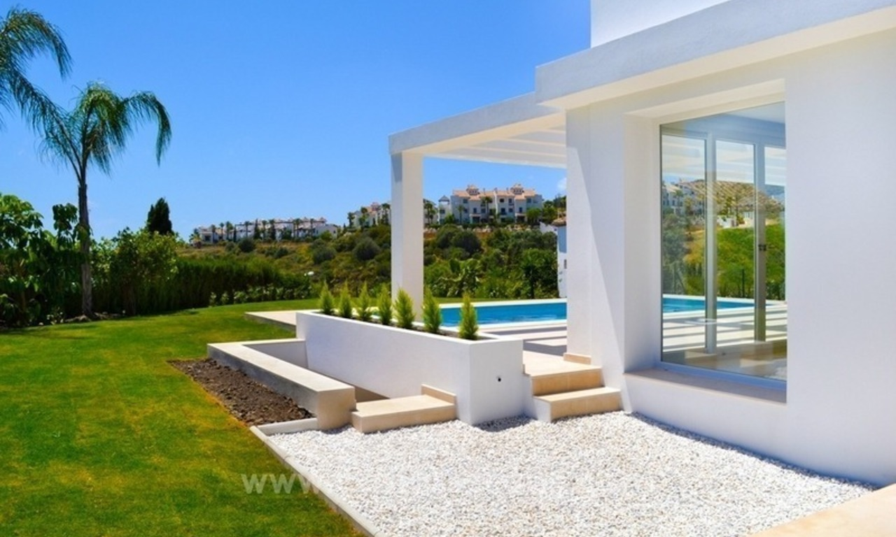 Newly built modern villa for sale in Marbella - Benahavis - Estepona 4