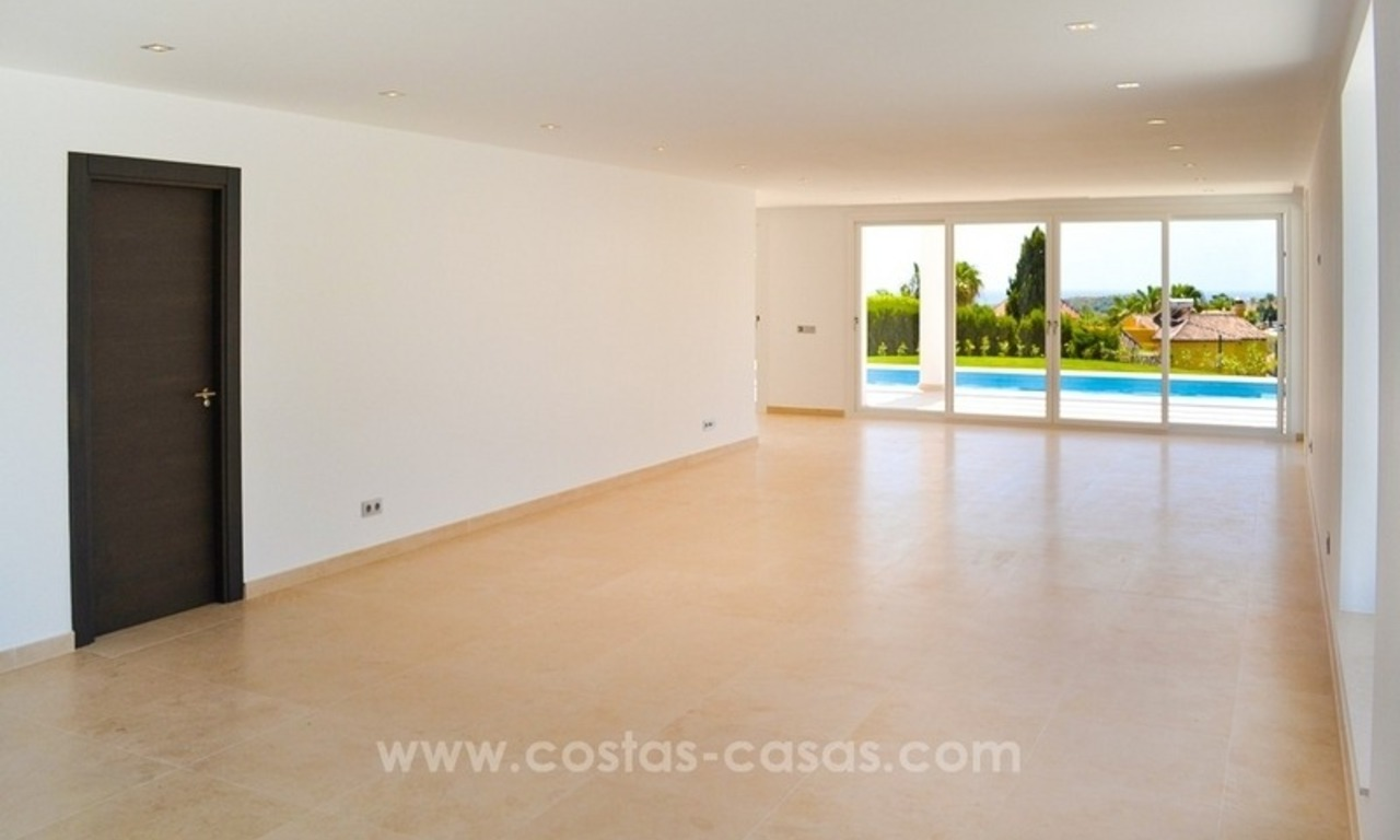 Newly built modern villa for sale in Marbella - Benahavis - Estepona 12