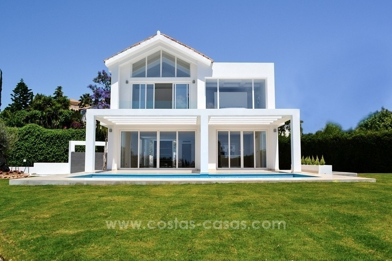 Newly built modern villa for sale in Marbella - Benahavis - Estepona