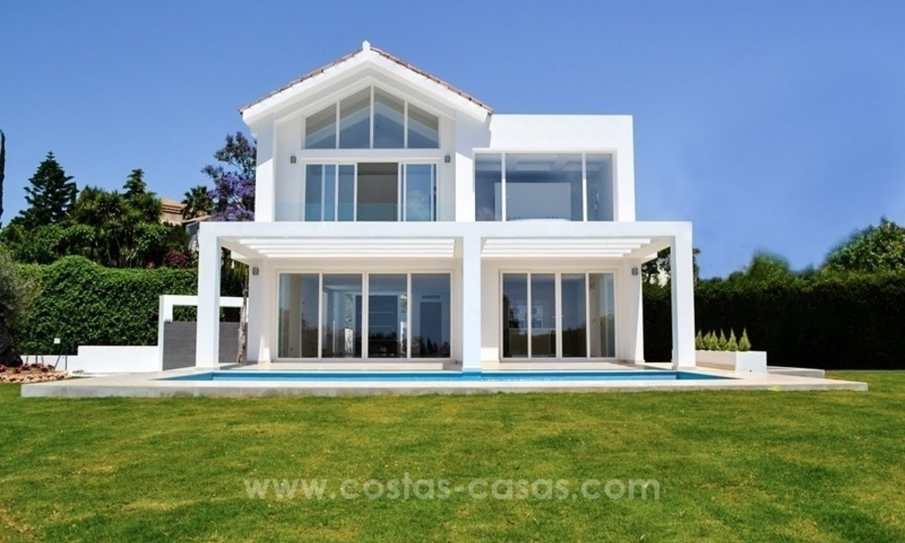 Newly built modern villa for sale in Marbella - Benahavis - Estepona 0