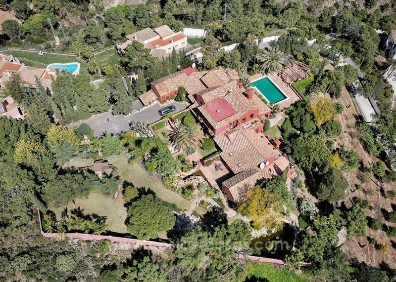 Classical country style villa for sale in El Madroñal, Benahavis - Marbella
