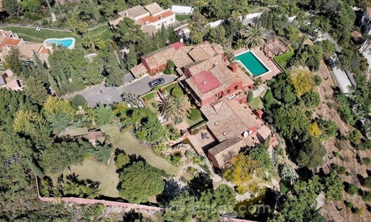 Classical country style villa for sale in El Madroñal, Benahavis - Marbella 0