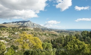 Classical country style villa for sale in El Madroñal, Benahavis - Marbella 2