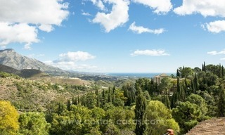 Classical country style villa for sale in El Madroñal, Benahavis - Marbella 3