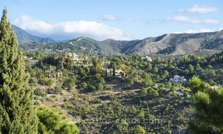 Classical country style villa for sale in El Madroñal, Benahavis - Marbella 6