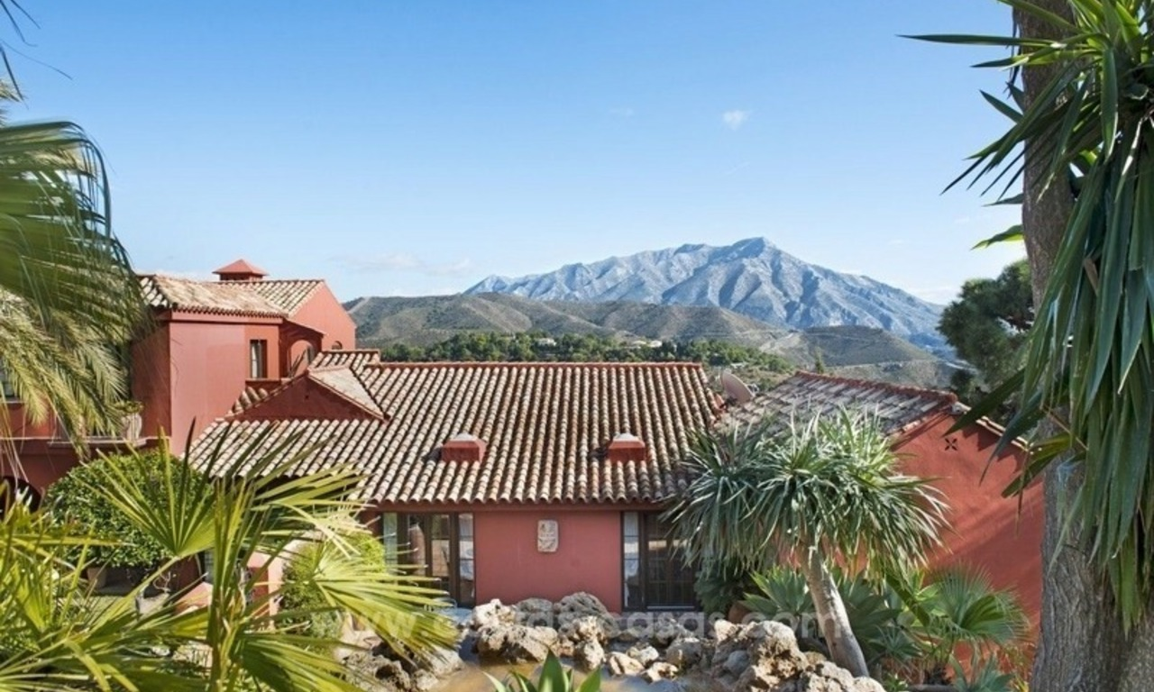 Classical country style villa for sale in El Madroñal, Benahavis - Marbella 20