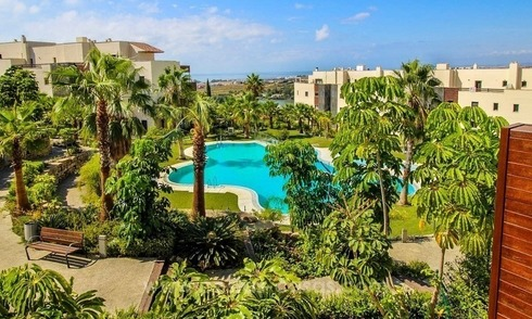 Beautiful modern apartment with sea views in Benahavis - Marbella