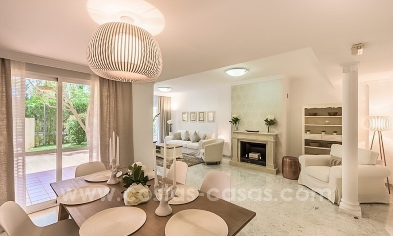 Bargain townhouses for sale on the Golden Mile in Marbella 38