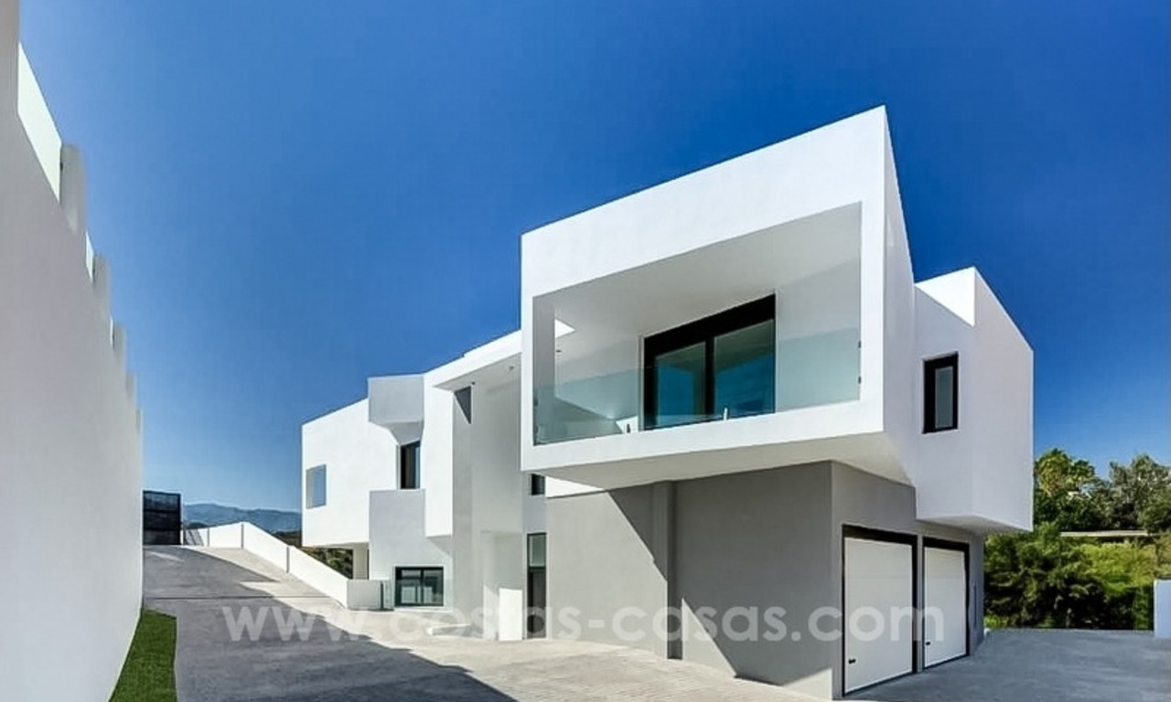 Newly built modern villa for sale in east Marbella 1