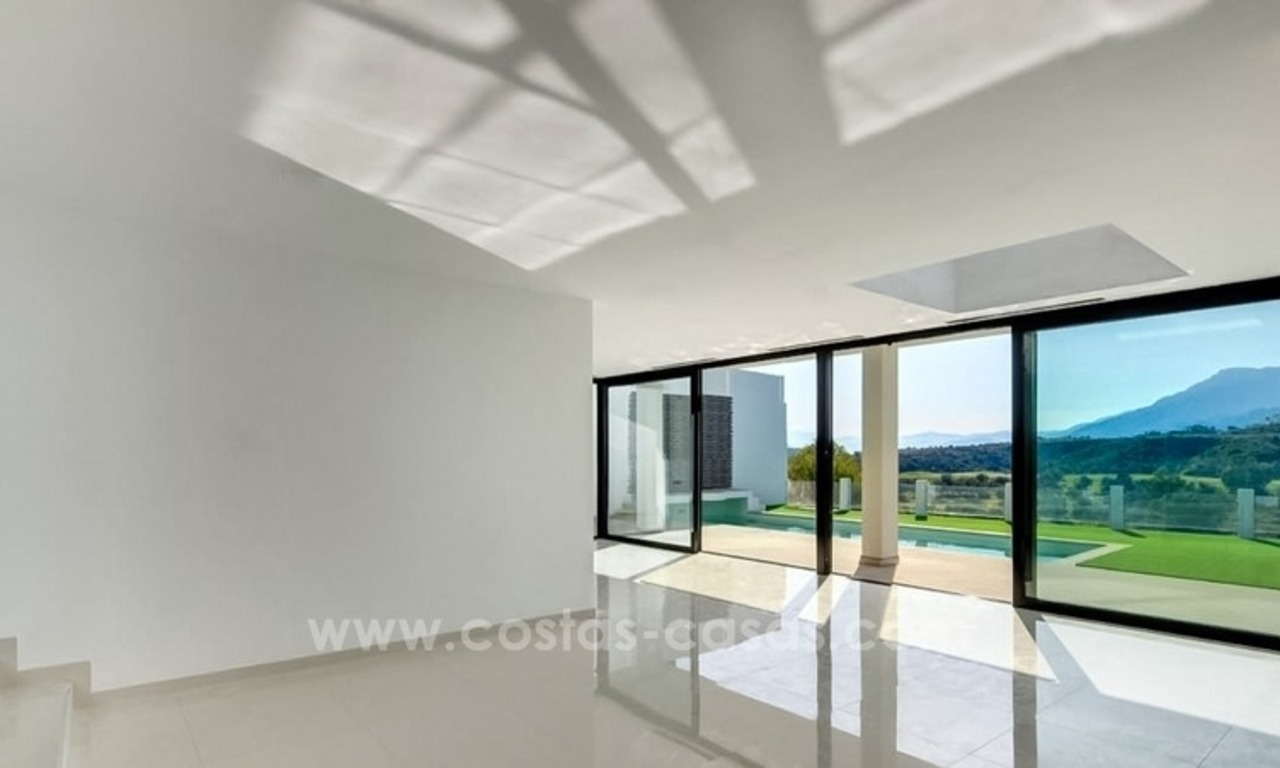 Newly built modern villa for sale in east Marbella 3