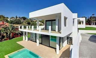 Newly built modern villa for sale in east Marbella 2