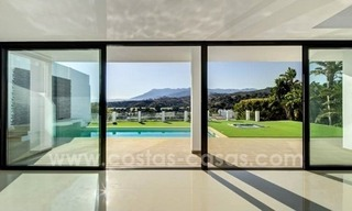 Newly built modern villa for sale in east Marbella 4