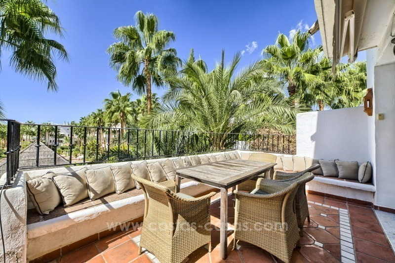 Penthouse apartment for sale in Puente Romano, Golden Mile, Marbella